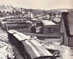 Railroad Tracks Going into Burk's Falls, circa 1940