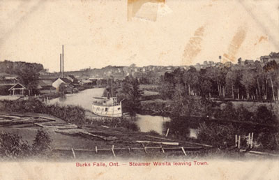 Wanita Leaving Burk's Falls, circa 1904