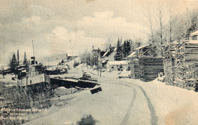 Magnetawan Wharf in Winter, circa 1923