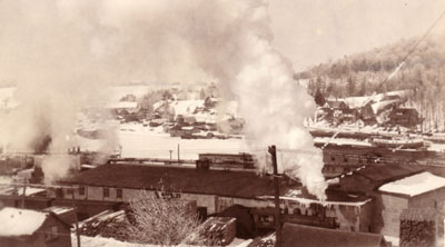 The Wharf of Magnetawan in Winter, 1926