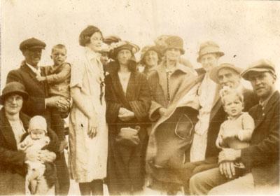 Group Photograph on the Armour, 1923