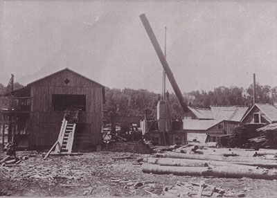 Working Lumber Mill, circa 1920