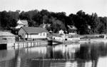 Steamer Glenda at the Burk's Falls Wharf, circa 1920