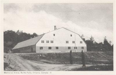 Memorial Arena, Burk's Falls, circa 1940