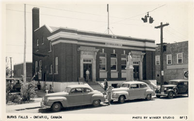 Post Office, Burk's Falls, circa 1940