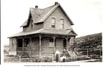 Family Home, 14 Copeland Street Burk's Falls, circa 1930
