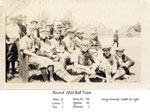 Burk's Falls Baseball Team, 1920