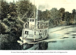 The Steamer Wanita Returning Upstream, ...