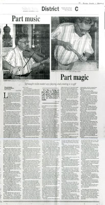 Part Music, Part Magic, Blind River, 1995