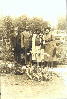 Richard Nelson Bell - Iris Sloman Wedding Day Photo, 1939