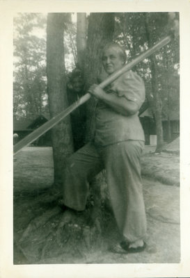 Josephine Sloman at Cottage in Parry Sound, Ontario