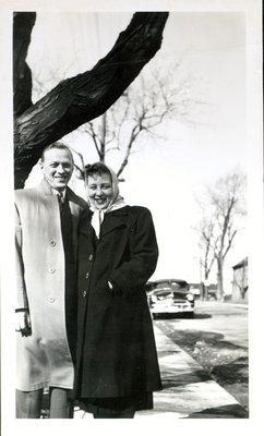 Roy and Shirley (Sloman) Johnson [n.d]