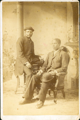 Two Black Gentlemen Photographed by John Cooper, London/St. Thomas, Ont. [n.d.]