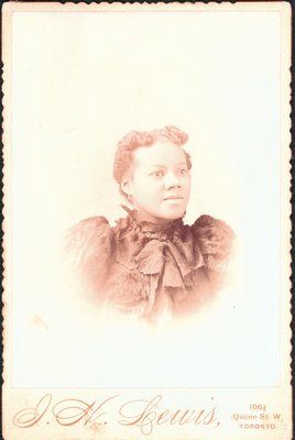 Cabinet Card Portrait Photographed by I. H. Lewis, of Toronto [n.d.]