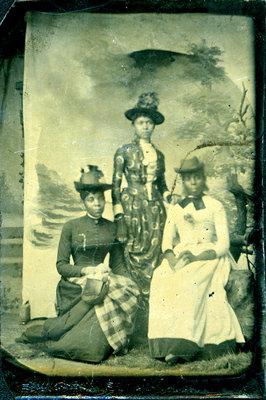 Tintype of Three African American Women [n.d.]