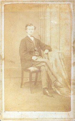 Photograph - Francis Bond Head Willson, 1870