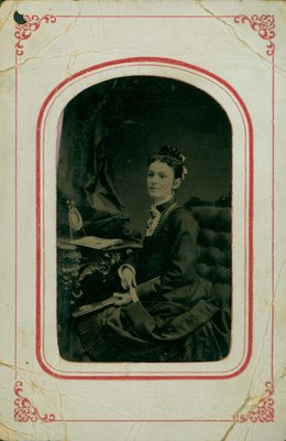 Photograph - Florence (wife of Francis Willson)