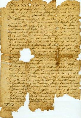 Indenture - 1773