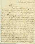 Letter Regarding an Affidavit discussing the Half Pay of Daniel Shannon, Ensign- June 13, 1820