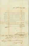 Letter Regarding Ensign Daniel Shannon's Military Pay from the Commissariat Office- 30 May 1817