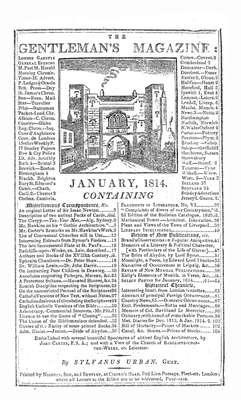 The Gentleman's Magazine and Historical Chronicle - 1814 January