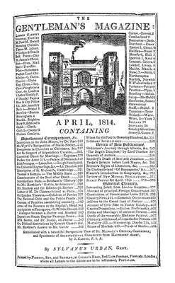 The Gentleman's Magazine and Historical Chronicle - 1814 April