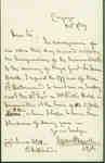 Letter to James Blott Regarding the Brock Monument- October 1859