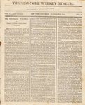 The New-York Weekly Museum Newspaper, Vol. II, No.24- October 16, 1813
