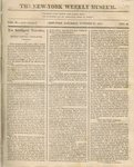 The New York Weekly Museum Newspaper, Vol. II, No.25- October 23, 1813