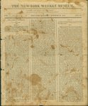 The New York Weekly Museum Newspaper, Vol. I, No.25- October 24, 1812
