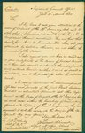 Letter from the Adjutant General's Office in York. March 10th, 1820