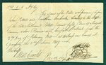 Promissory Note, February 2, 1815 - William and Abraham Nelles and Nathanial Pettit Estate