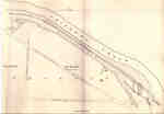 Second Welland Canal - Book 3, Survey Map 11 - Aqueduct Lock and Canal along Chippewa Creek in Thorold