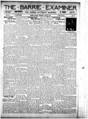 Barrie Examiner, 10 Jun 1920