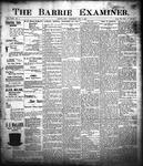 Barrie Examiner, 2 Feb 1899