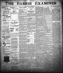 Barrie Examiner, 7 Sep 1899
