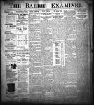 Barrie Examiner, 5 Oct 1899