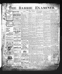 Barrie Examiner, 22 May 1902