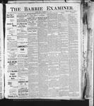 Barrie Examiner, 24 Oct 1901