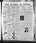 Barrie Examiner, 28 Nov 1901
