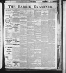 Barrie Examiner, 12 Dec 1901