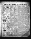 Barrie Examiner, 30 Oct 1902