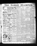 Barrie Examiner12 Nov 1903