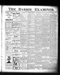 Barrie Examiner, 31 Mar 1904