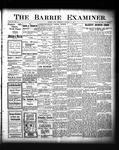 Barrie Examiner, 27 Oct 1904