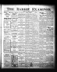 Barrie Examiner, 24 Nov 1904