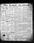 Barrie Examiner, 13 Apr 1905