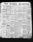Barrie Examiner, 19 Oct 1905