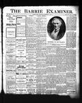 Barrie Examiner, 16 Nov 1905