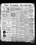 Barrie Examiner, 23 Nov 1905